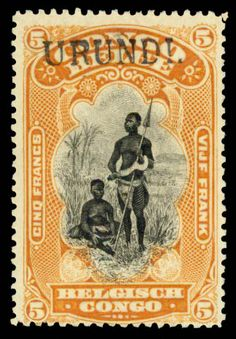 1916 occupation of German East Africa German East Africa, My Stamp, Stamp Collecting, Country Of Origin, Travel Posters, Great Britain, Postage Stamps, Auction, History