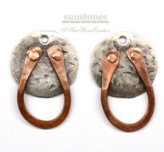Reserve for Kim C. Hand Forged Rustic Mixed Metal by SunStones