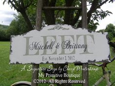 CUSTOM NAME SIGN Personalized Name Sign by MyPrimitiveBoutique, $65.00