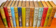 Dying to get my mitts on these rare first editions of the Wizard of Oz books.  The only drawback: the set is on offer for $150,000.