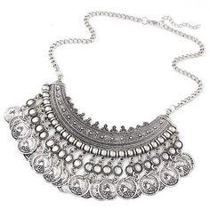 LA Bohemian Coin Necklace - Dulce Vida Clothing Company