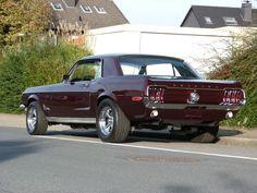 Ford Mustang Coupe 302 cui V8 Bj 1968 , über 90 Bilder in der Auktion in in Bochum | eBay
