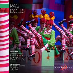 "Did you know the red cheeks we wear for our ""Rag Dolls"" number are the same red cheeks we wear in ""Parade of the Wooden Soldiers""?"