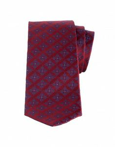 Patterned Woven Silk Tie: Boost your business with a dose of pattern like this woven-silk tie by Charvet. Meticulously constructed for the finest finish, this piece embodies the refined craftsmanship. The dapper palette will look splendid against a white poplin shirt and a navy suit at your next presentation.