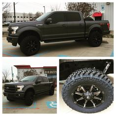 """2015 Ford F-150 with a BDS 6"""" lift w/Fox shocks and 20"""" Fuel coupler wheels…"""