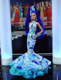 OOAK Barbie NiniMomo's Miss Tahiti 2011
