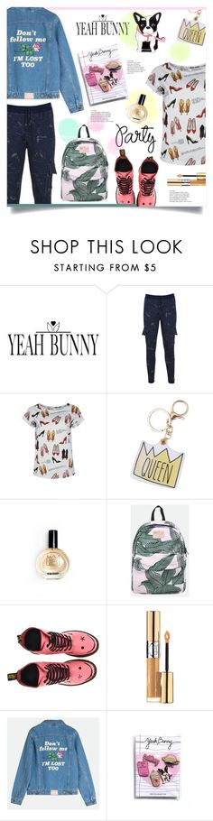 """""""YEAHBUNNY CONTEST"""" by mahafromkailash ❤ liked on Polyvore featuring Yeah Bunny, Dr. Martens and Yves Saint Laurent"""