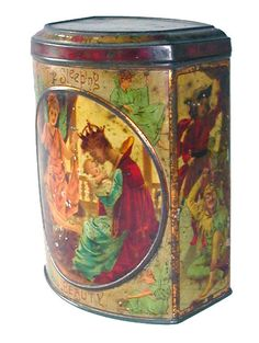 Sleeping Beauty Mackenzie biscuit tin  c.1897