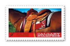2012 Calgary Stampede commemorative stamp