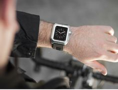 The equally durable polycarbonate band has enough slots to be worn with wrists of all sizes with a comfortable fit.