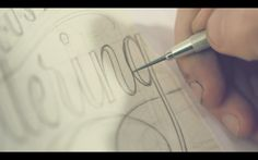 Vídeo do dia: Calligraphy and Lettering '14