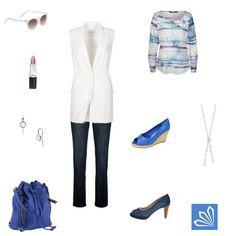 Casual Outfit: Ich habe eine weiße Weste. Mehr zum Outfit unter: http://www.3compliments.de/outfit-2015-07-31-x