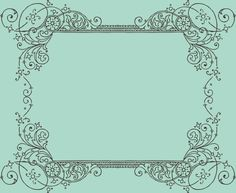 FREE: Vintage Frames Borders & Ornaments