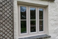 Our windows are mechanically-jointed (not welded) and hand-built in Lancashire. This creates the mortise & tenon aesthetic, for both the sash and outer frame, that typically defines traditional timber windows. Timber Windows, Sash Windows, Casement Windows, Windows And Doors, Cottage Windows, Georgian Architecture, Cottage Exterior, Back Doors, House Front