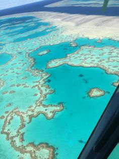 The Heart Reef at The Great Barrier Reef!