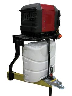 Stromberg Trailer Tray..... I like this! I don't have a generator, but this could hold a bunch of other things.                                                                                                                                                      More