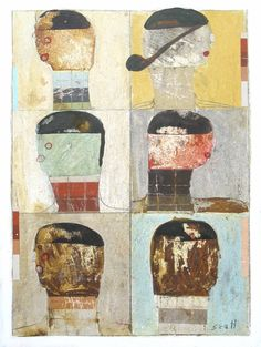 "Saatchi Art Artist Scott Bergey; Painting, ""Soul City, That's Where We're Heading"" #art"