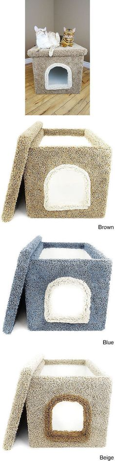 Litter Boxes 100411: New Cat Condos Large Hidden Litter Box Enclosure -> BUY IT NOW ONLY: $96.49 on eBay!