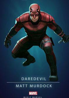 Daredevil Mundo Marvel, Marvel Comics Art, Marvel Comic Universe, Marvel Heroes, Marvel Avengers, Luke Cage, Marvel Cards, Joker, American Comics