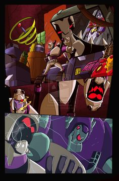Transformers Animated 5 pg 12 by ~LiamShalloo on deviantART