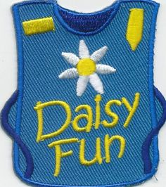 Girl Boy Cub Daisy Fun Tunic Day Daisies Fun Patches Crests Badge Scout Guide | eBay