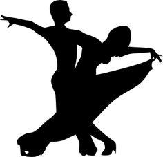 ballroom dancer silhouette - Google Search