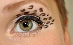Leopard Eye Makeup Tutorial | Leopard Eyes Eyeshadow | AmazingMakeups.com