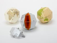 Globe with a partial section to learn the structure of the earth. Good for gift to kids.