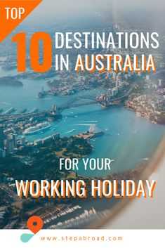 Thinking about doing a working holiday in Australia and wondering where you should go? We've broken down our top 10 recommendations by time of year and jobs available. Top 10 Destinations, Holiday Destinations, Working Holidays, Australia Travel, Budget Travel, Organic Gardening, Places To Travel, Vacation Places, Vacation Spots