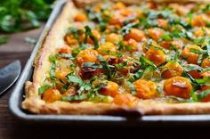 Tomato Tart! So much flavor and gorgeousness, I almost can't stand it.