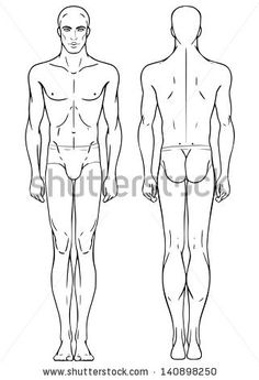 Body Template - unposed male
