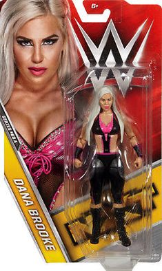 Wwe Action Figures, Custom Action Figures, Wrestling Superstars, Women's Wrestling, Wwe Dana Brooke, Figuras Wwe, Wwe Money, Wwe Women's Division, Paige Wwe