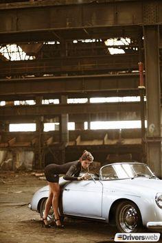 checking face in the mirror Porsche Sports Car, Porsche Models, Porsche Cars, Porsche Classic, Classic Cars, Ferdinand Porsche, Sexy Cars, Hot Cars, Car Poses