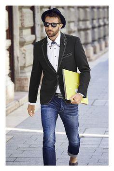 Dieses Sakko von Bruno Banani ist etwas für Männer, die ein Faible für das…