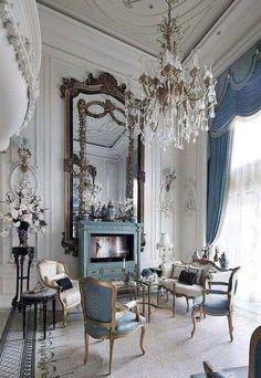 20 beautiful french country living room decor ideas french country decorating, furniture, home decor French Living Rooms, Victorian Living Room, French Country Living Room, French Country Style, French Country Decorating, Rustic Style, French Style Decor, French Chic, Modern Living
