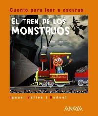 Otra recomendación apropiada para hoy, un libro lleno de monstruos, impreso con tinta luminiscente para leer a oscuras