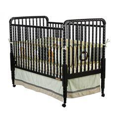 Dream On Me Jenny Lind Crib in Black - 666-K