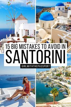 Greece Travel   Mistakes To Avoid In Santorini   Planning A Trip To Santorini   Top tips for Santorini Travel   bucket list locations for Santorini   prettiest places in Santorini   Best please to visit in Santorini   where to stay in Santorini   how to visit Santorini   cutest places to see in Santorini   where to stay in Santorini   things to avoid in Santorini   Santorini itinerary tips   Best things to do in Santorini   What to know when planning a trip to Santorini #Santorini #GreeceTravel
