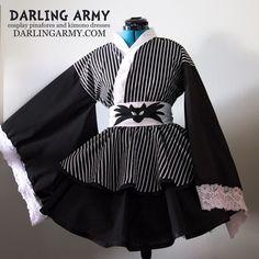 Jack Skellington Nightmare Before Christmas Cosplay Kimono Dress Lolita | Darling Army