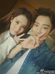 Kết quả hình ảnh cho chanyeol and seohyun talking