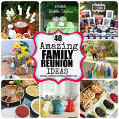40 Family Reunion Ideas
