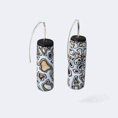 Melanie Muir Bronze Mono Pillars Earrings.jpg