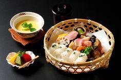 お子様竹籠弁当 (茶碗蒸し付き)