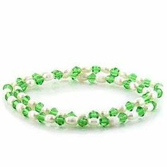 Stone Bracelet with White Pearl - 7'' long Bracelets - Fashion Jewelry. $8.96. 7'' long. White Pearl