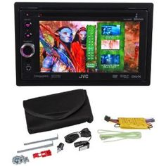"""JVC KW-AV60BT 6.1"""" Touchscreen In-Dash DVD/MP3/USB Receiver With Bluetooth And Pandora Control With iPhone and Detachable Face (Electronics)"""