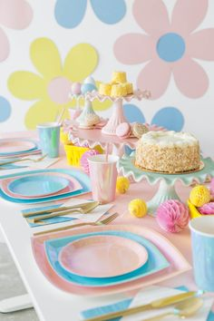 Spring has sprung here a Jollity and Co. Flower Party Themes, Flower Power Party, Spring Has Sprung, 2nd Birthday, Van, Easter, Deco, Flowers, Meet