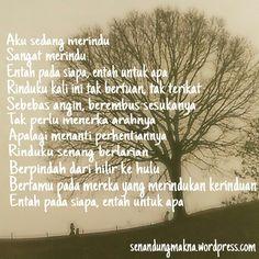 Merindu #quotes #puisi #Indonesia