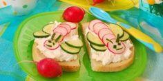 wesołe kanapki, kuchnia dla dziecka