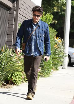 John Mayer Takes a Solo Stroll on a Valentine's Day in Beverly Hills Before Date Night with Katy Perry