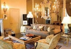 The Coco Chanel Suite in 2010 at Ritz-Carlton in Paris